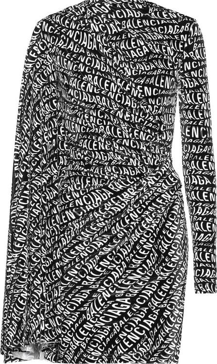 Balenciaga Stretch velvet minidress