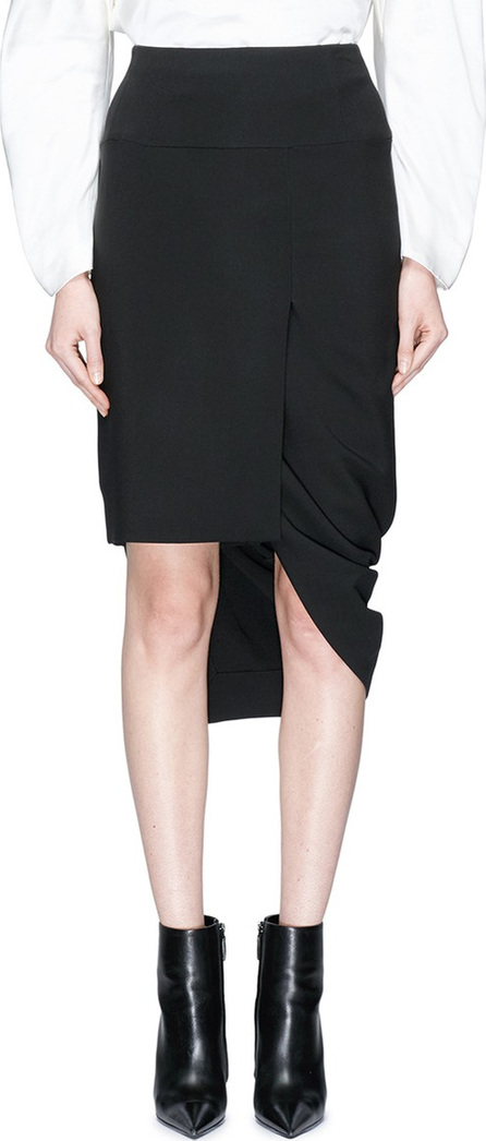 Haider Ackermann Drape high-low skirt