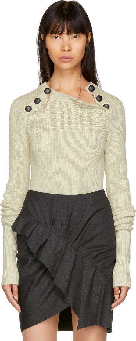 Isabel Marant Etoile Grey Koyle Rib Sweater