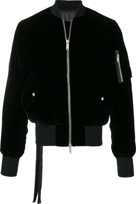 Ben Taverniti Unravel Project Velvet bomber jacket