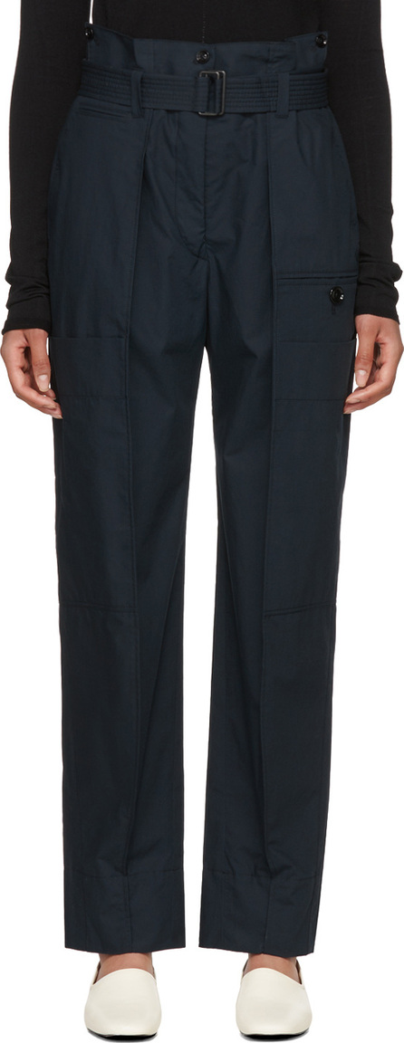 Lemaire Navy Cargo Trousers