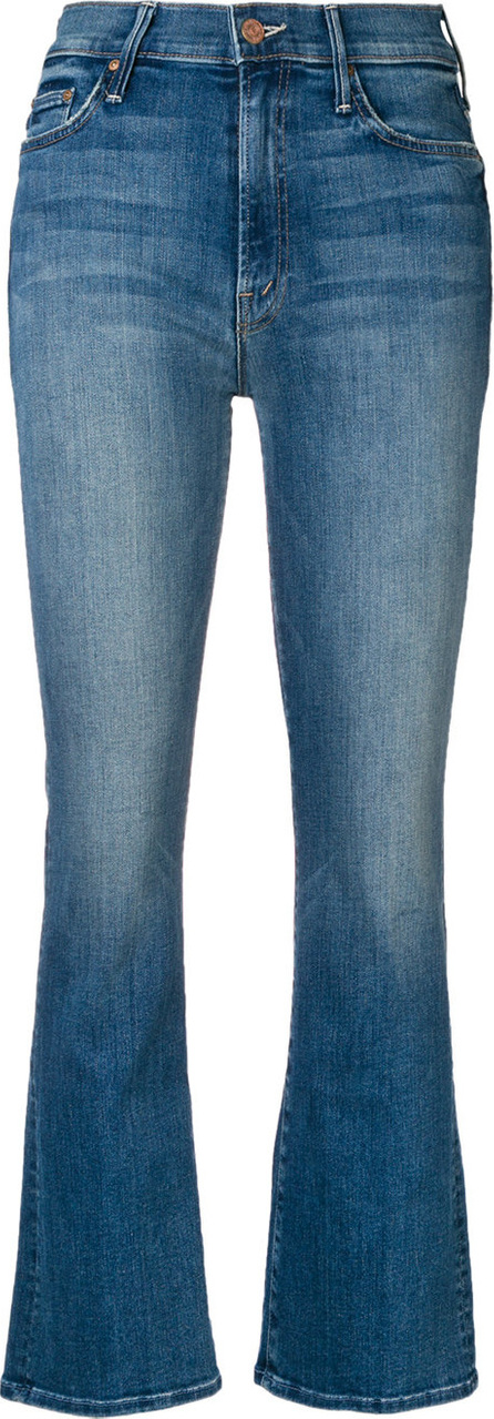 MOTHER Bootcut cropped jeans