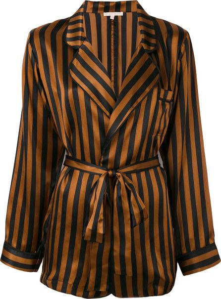 Gold Hawk striped pyjama jacket