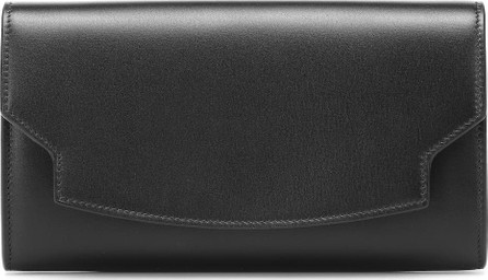 THE ROW Lady leather clutch