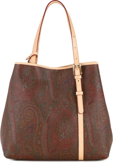 Etro paisley patterned tote