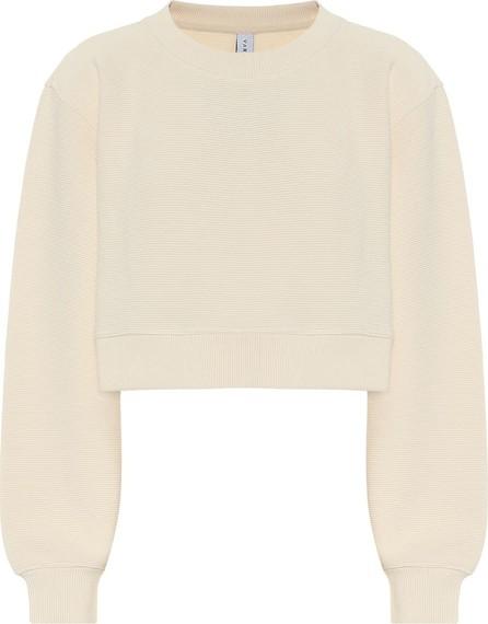 Varley Albata cotton-blend cropped sweatshirt