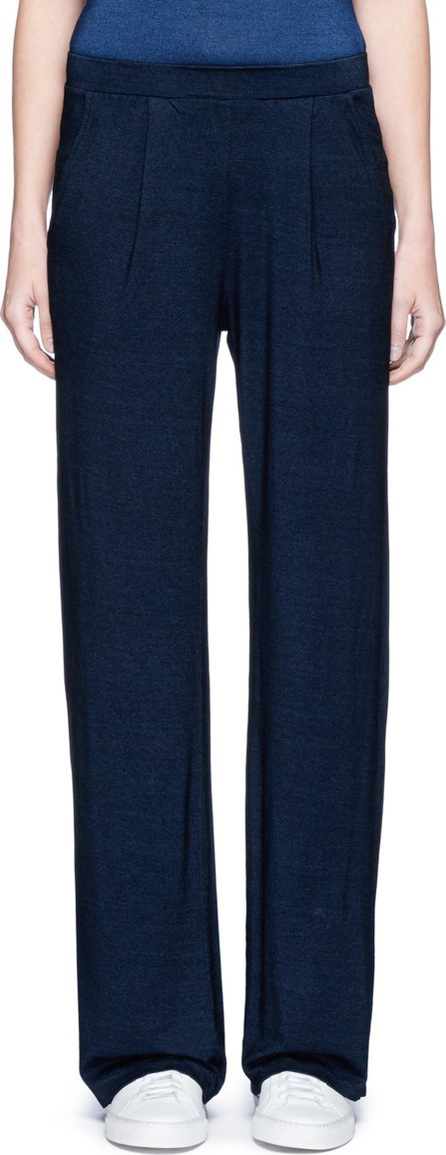 AG Jeans 'Luxe' wide leg jersey pants