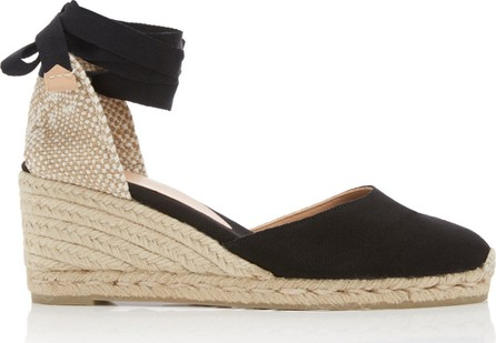 Castaner Carina Canvas Wedge Sandals