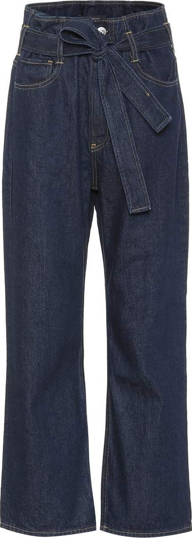 3X1 Kelly paperbag straight-leg jeans