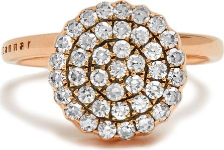 Selim Mouzannar Diamond & pink-gold Beirut ring