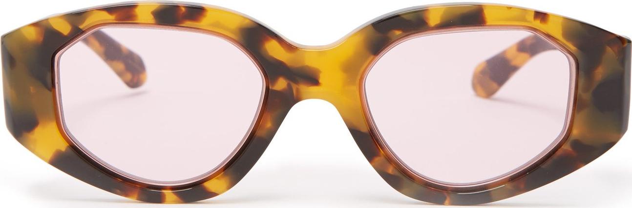 Karen Walker - Castaway Crazy Tort tortoiseshell sunglasses