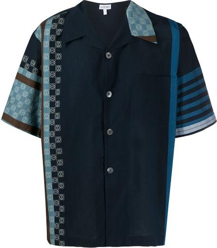LOEWE Logo-print button-up shirt