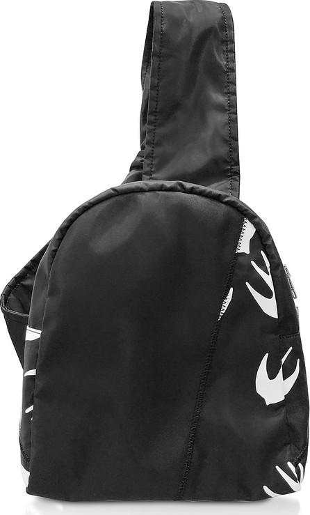 a20f13ba5964a McQ - Alexander McQueen Black & White Printed Nylon Backpack