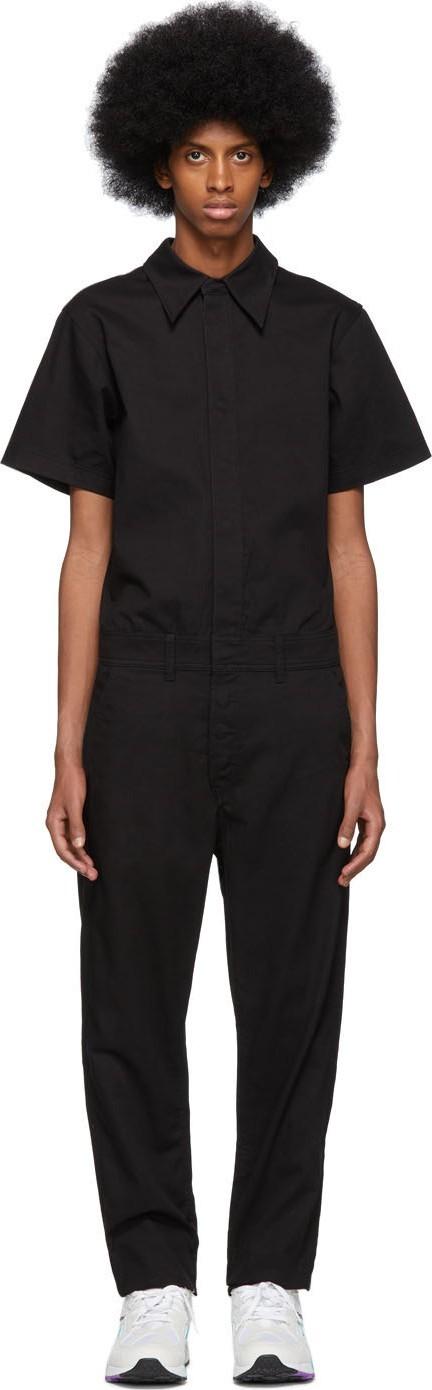 Calvin Klein Jeans Black Twill Coveralls