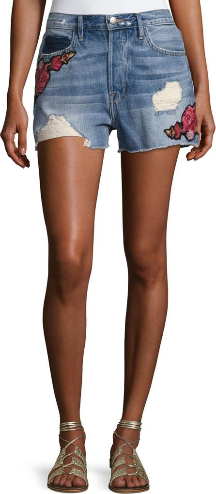 Le Original Patch Shorts, Rose Petal