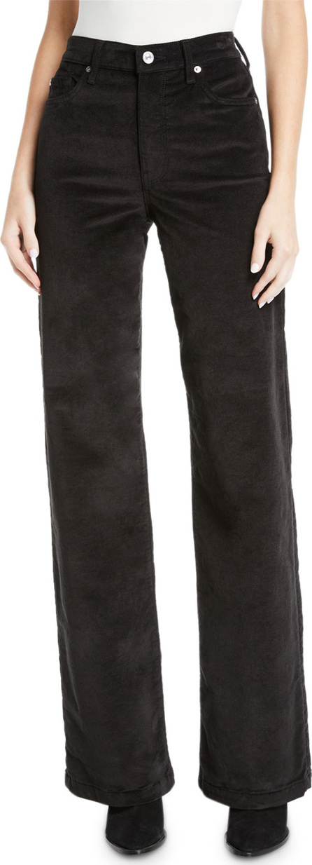 7 For All Mankind Alexa Wide-Leg Corduroy Jeans
