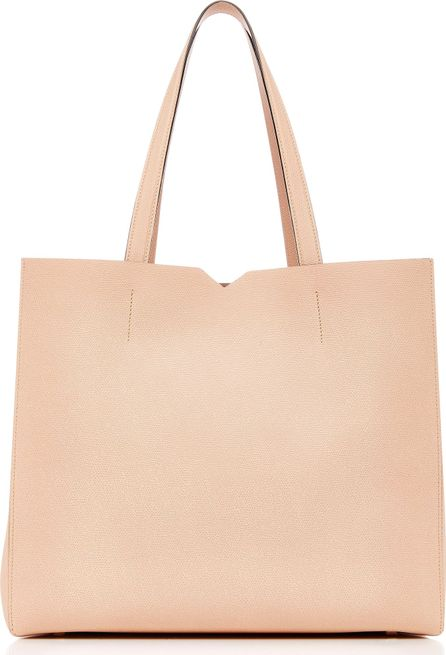 Valextra V Leather Tote