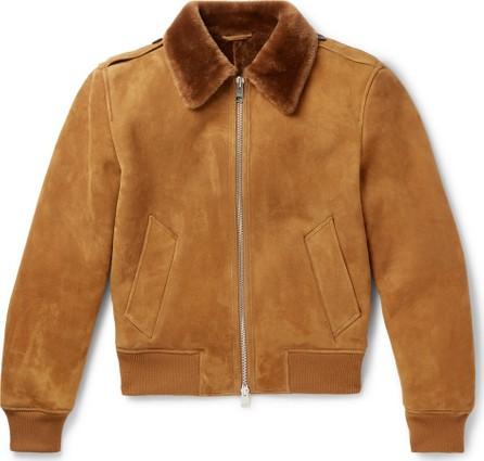 AMI Shearling Aviator Jacket