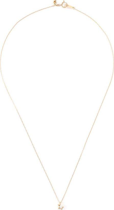 Tasaki 'Abstract Star' diamond 18k yellow gold pendant necklace