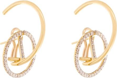 Ana Khouri Brigid diamond & 18kt gold earrings