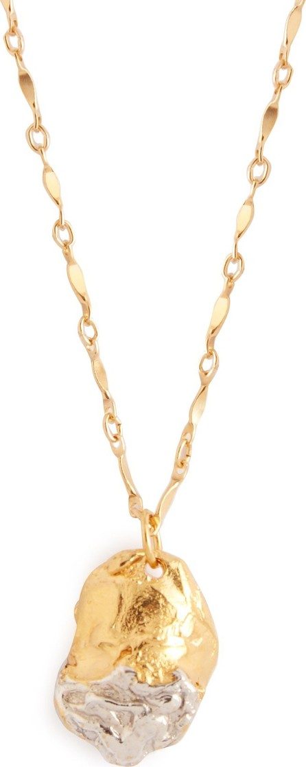 Alighieri Girl 24kt gold-plated and sterling silver necklace