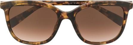 Furla Toni oversized frame sunglasses