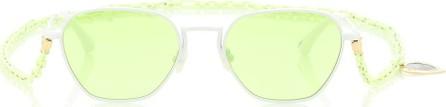 Alessandra Rich X Linda Farrow square sunglasses