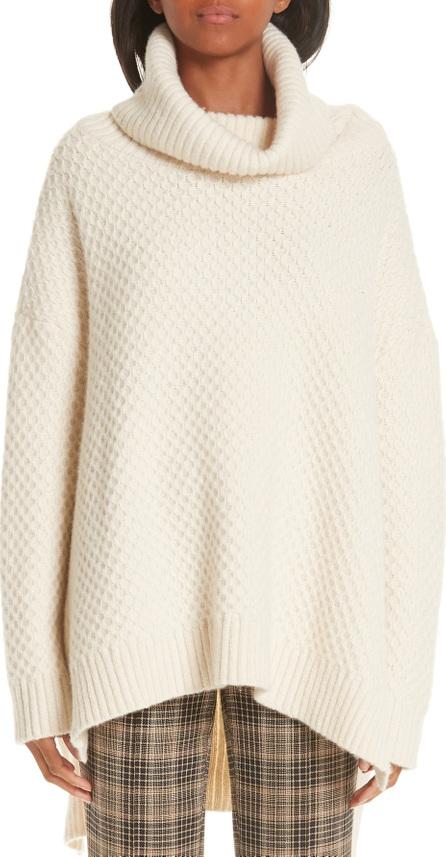 Adam Lippes Wool & Cashmere Tunic Sweater