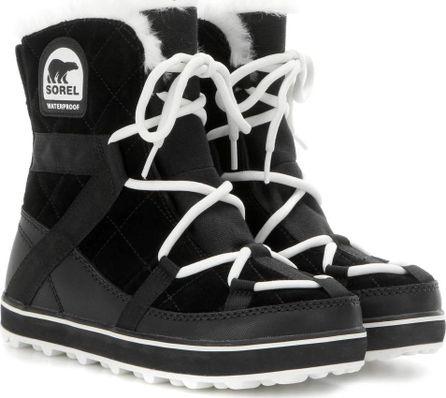 Sorel Glacy Explorer Shortie™ suede boots