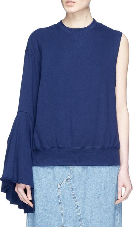 FACETASM Asymmetric sleeve sweatshirt