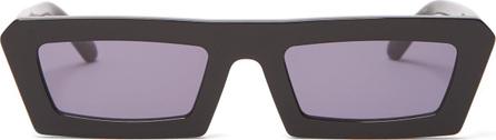 Karen Walker Shipwrecks rectangular-frame acetate sunglasses