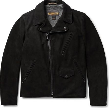Schott NYC Perfecto Suede Biker Jacket