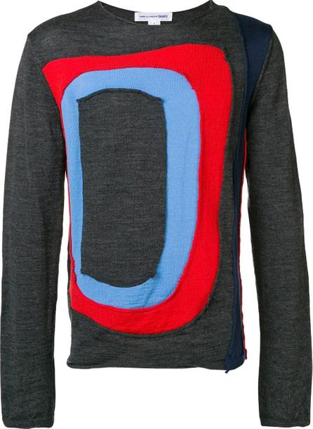 Comme Des Garcons Cut out detail sweater