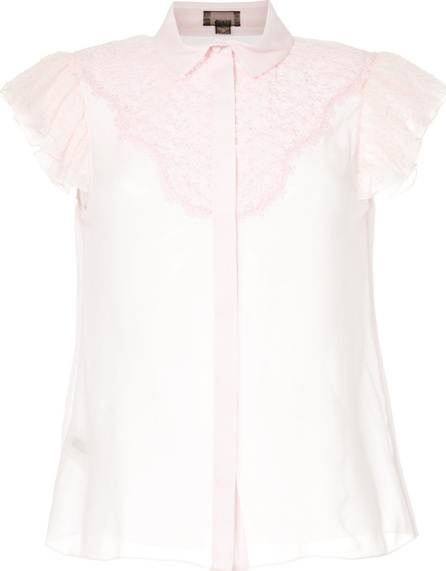 Giambattista Valli Lace trim blouse