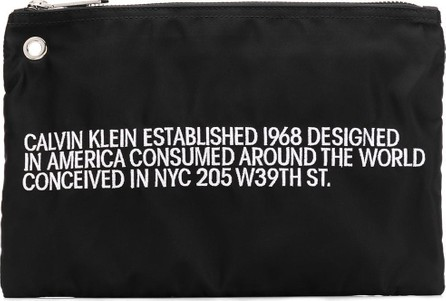 Calvin Klein 205W39NYC Embroidered small pouch