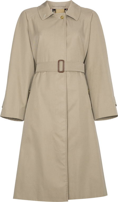 Burberry London England Restored 1980s Belted Trench Coat
