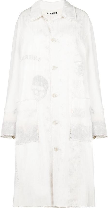 Hyein Seo Layered lab coat