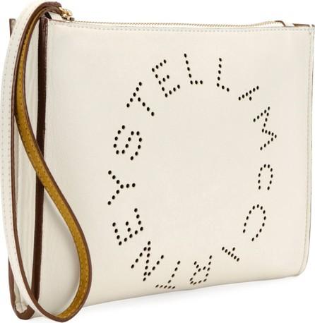 Stella McCartney Alter Napa Perforated Wristlet Clutch Bag