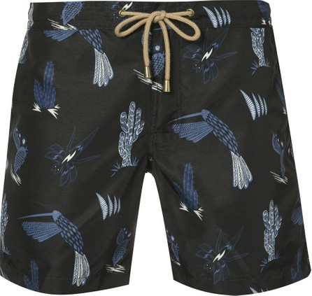 Thorsun patterned swimming trunks