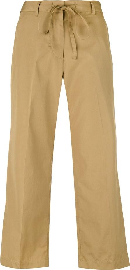 Aspesi flared cropped trousers