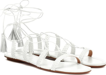Aquazzura Stromboli leather sandals