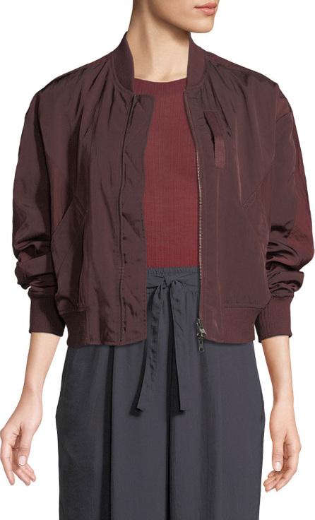 Vince Reversible Zip-Front Bomber Jacket