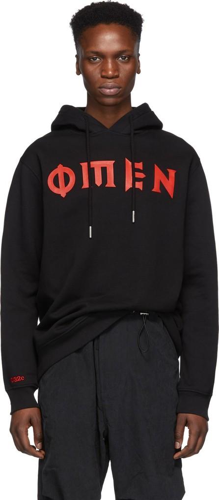 032c Black 'Omen' Hoodie