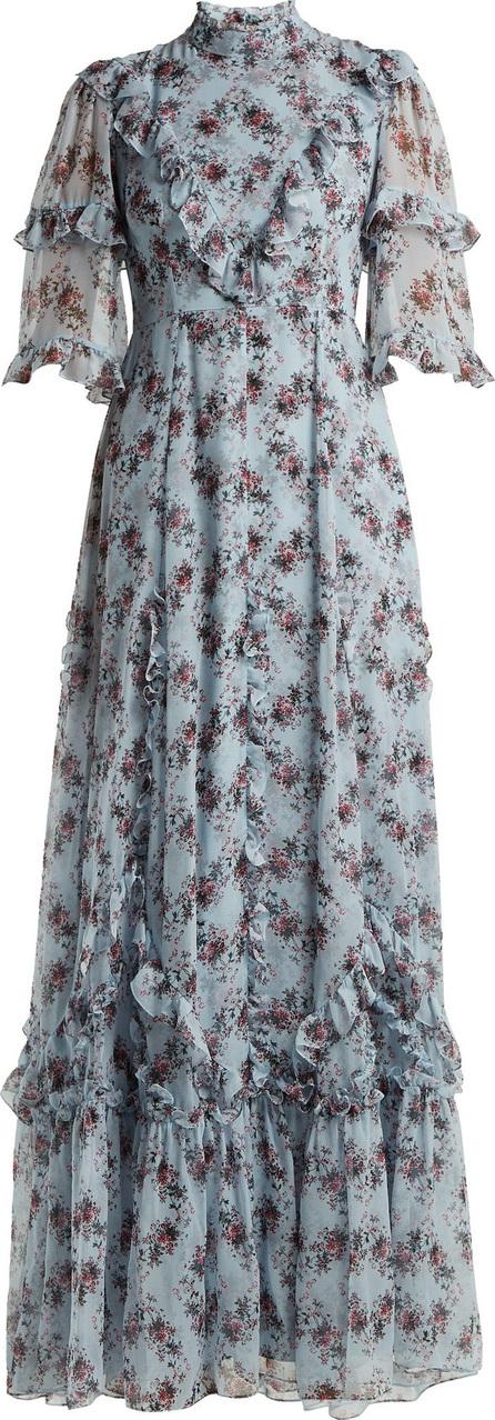 Erdem Isidor Keiko-print silk gown