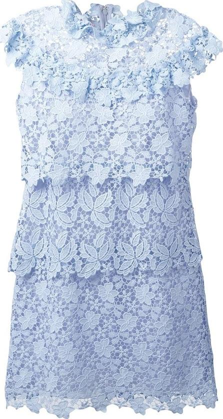 GIAMBA layered lace dress