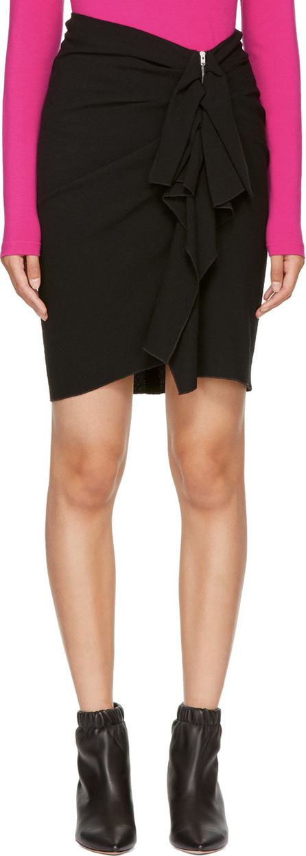 Isabel Marant Black Abril Miniskirt