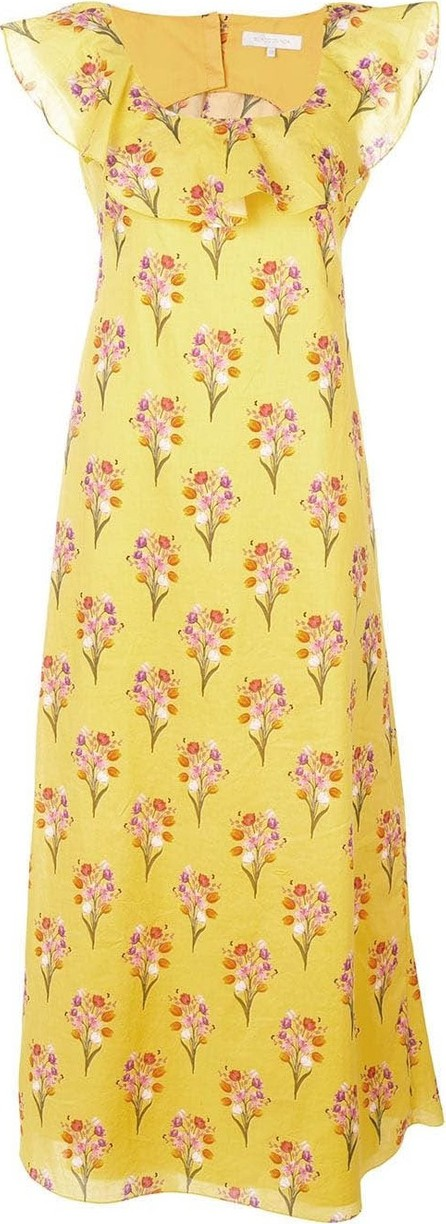 Borgo De Nor Sleeveless floral maxi dress