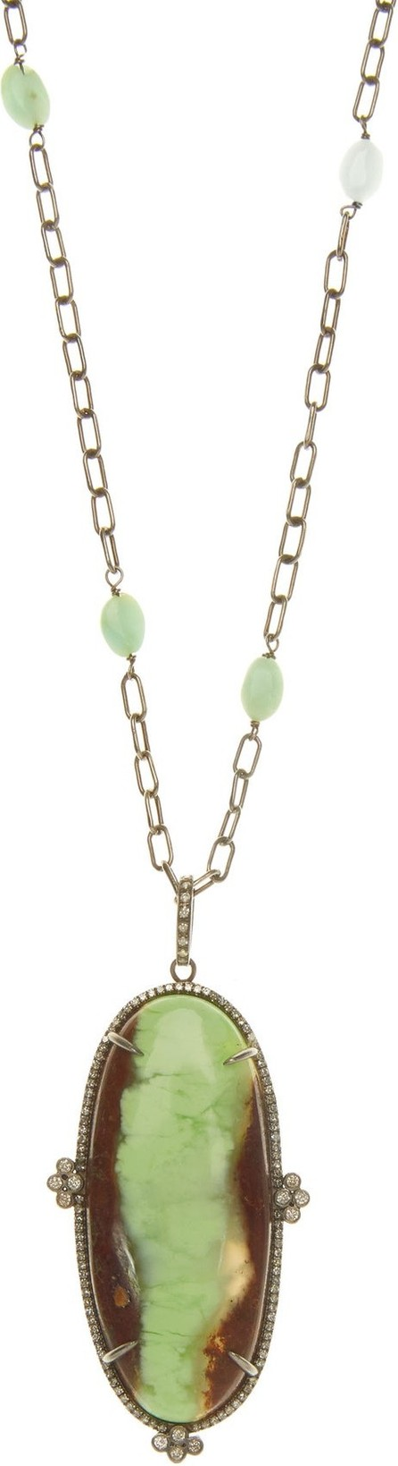 Ileana Makri Earth Tone diamond & sterling-silver necklace
