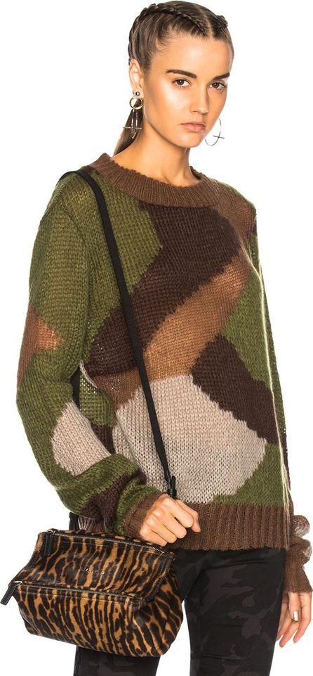 Faith Connexion Camo Sweater