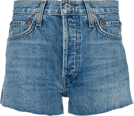 RE/DONE High waisted denim shorts